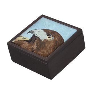 Cadir - Red-tail Hawk Jewelry Box
