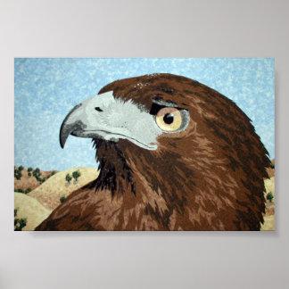 Cadir - Red-tail Hawk Poster