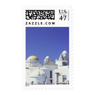 Cadiz Cathedral in Cadiz, Spain Postage Stamp