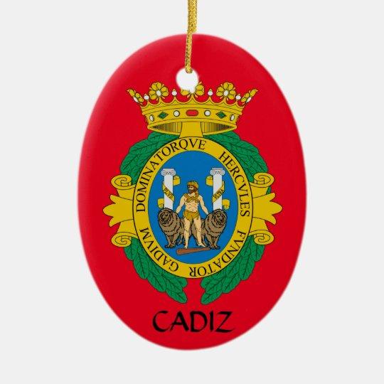 Cadiz*, Spain Christmas Ornament   Zazzle.com