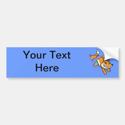 Cadmean Vixen - The Portal Fox Bumper Stickers