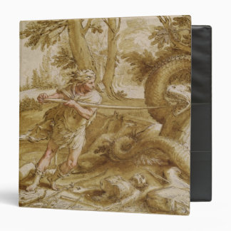 Cadmus about to attack a Dragon 3 Ring Binder