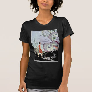 Cadmus and the Dragon from Tanglewood Tales Tshirt