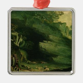 Cadmus and the Dragon Christmas Ornament