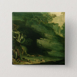Cadmus and the Dragon Pinback Button