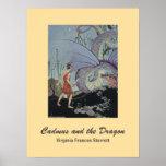 Cadmus y el dragón posters