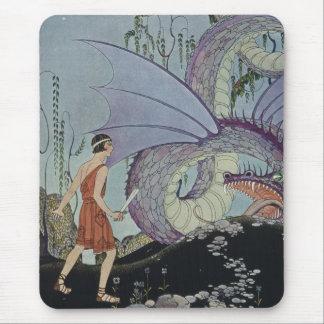 Cadmus y el dragón alfombrilla de ratón