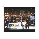 Cadre Photo Black Belt Spirit des automnales 2012 Stretched Canvas Print