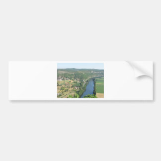 Cadrieu, France, The Aerial View Car Bumper Sticker