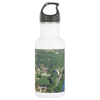 Cadrieu, France, The Aerial View Stainless Steel Water Bottle