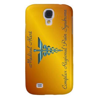 Caduceo alerta médico de Asclepius del símbolo de  Funda Para Galaxy S4