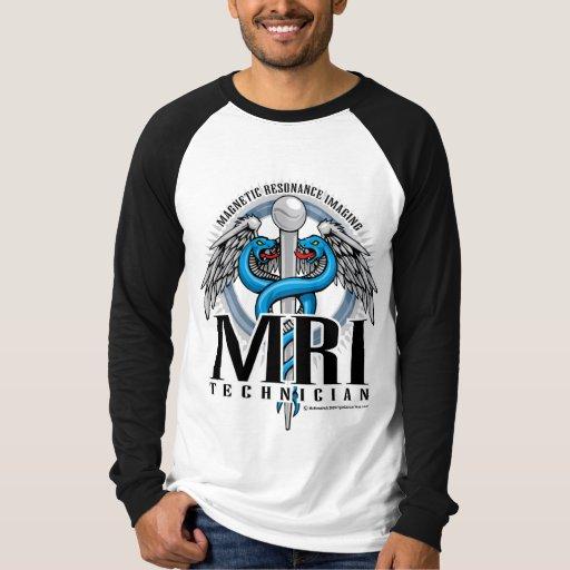 Caduceo de la tecnología de MRI Remeras