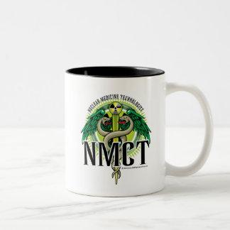 Caduceo de NMCT Taza De Dos Tonos
