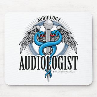 Caduceo del audiólogo alfombrillas de ratones