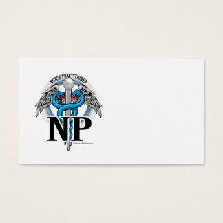 Caduceo del azul de NP Tarjetas De Visita