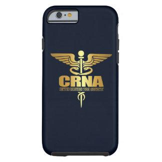 Caduceo del oro (CRNA) Funda De iPhone 6 Tough