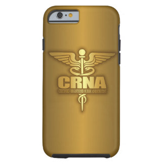 Caduceo del oro (CRNA) Funda Para iPhone 6 Tough