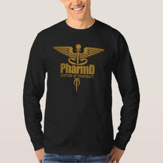 Caduceo del oro (PharmD) Remera