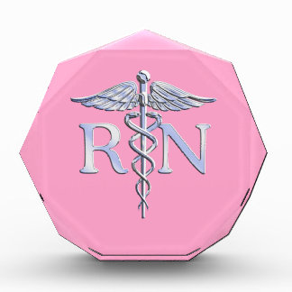 Caduceo del RN de la enfermera registradoa en la