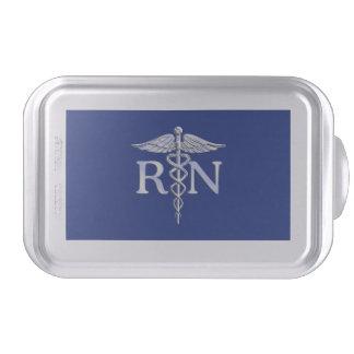 Caduceo del RN de la enfermera registradoa en la Molde Para Pasteles
