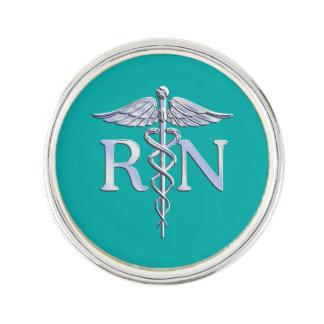 Caduceo del RN de la enfermera registradoa en la Insignia