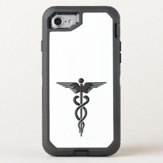 Caduceo médico de las insignias funda OtterBox defender para iPhone 7