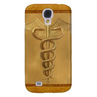 Caduceo médico del oro