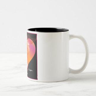 Caduceo para los curadores no tradicionales tazas de café