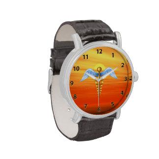 Caduceo Reloj De Mano