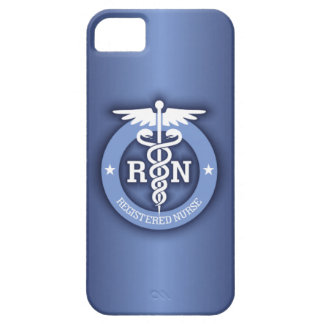 Caduceo RN 2 (azul) Funda Para iPhone 5 Barely There