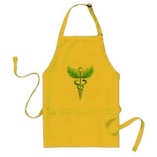 Caduceus:  Alternative Medicine Apron