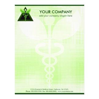 Caduceus Alternative Medicine Business Letterhead