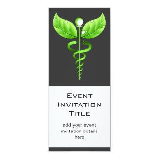 Caduceus Alternative Medicine Holistic Event Card