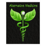 Caduceus: Alternative Medicine Poster Print Print