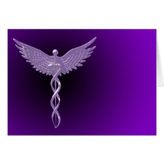 Caduceus card