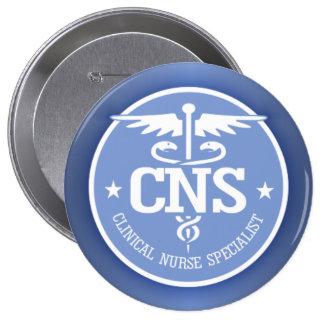 Caduceus CNS 2 Pinback Button