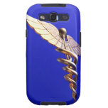 Caduceus, computer artwork. The caduceus is an Samsung Galaxy SIII Cases