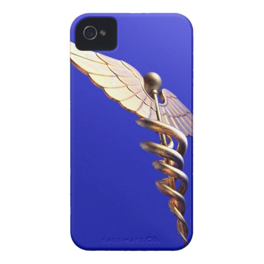 Caduceus, computer artwork. The caduceus is an iPhone 4 Case