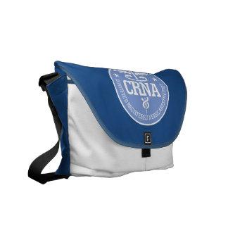 Caduceus CRNA gift ideas Courier Bag