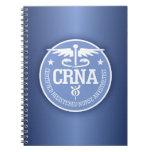 Caduceus CRNA gift ideas Notebook