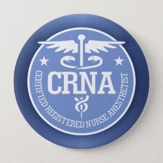 Caduceus CRNA gift ideas Pinback Button
