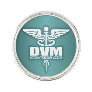 Caduceus DVM 3 Lapel Pin