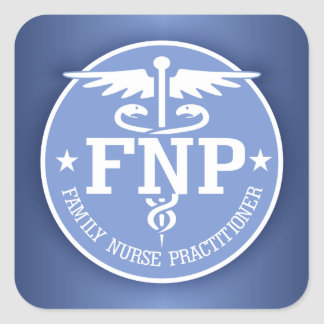 Caduceus FNP2 gifts Square Sticker