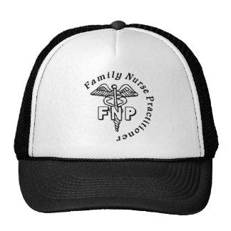 CADUCEUS FNP FAMILY NURSE PRACTITIONER TRUCKER HAT