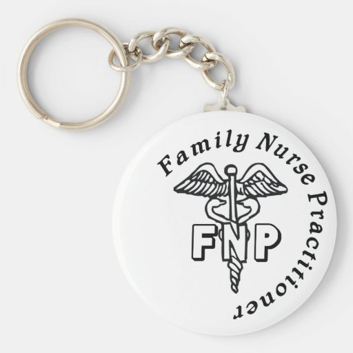 CADUCEUS FNP FAMILY NURSE PRACTITIONER KEY CHAIN Zazzle