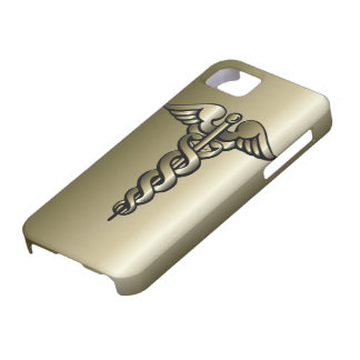 Caduceus - Gifts For The Nurse iPhone 5 Case