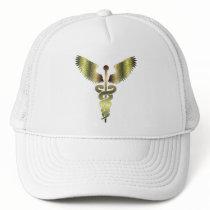Caduceus Gold symbol Trucker Hat