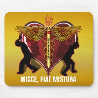Caduceus Heart V-1, MISCE, FIAT MISTURA Mouse Pad