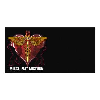 Caduceus Heart V-1, MISCE,FIAT MISTURA Photo Cards