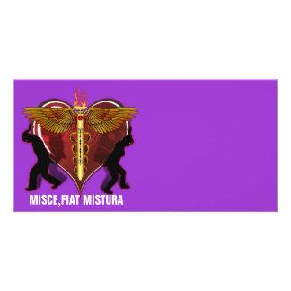 Caduceus Heart V-1, MISCE,FIAT MISTURA Picture Card